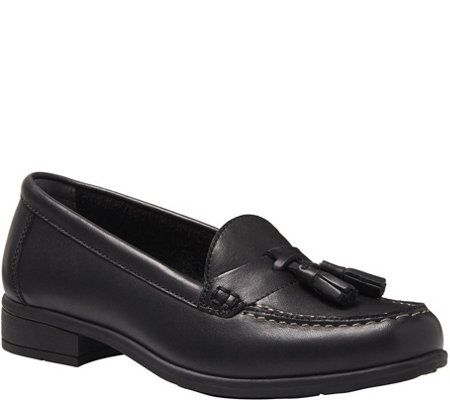 Eastland Leather Slip On Loafers  - Liv