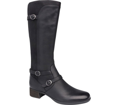 Dansko Tall Leather Boots - Lorna