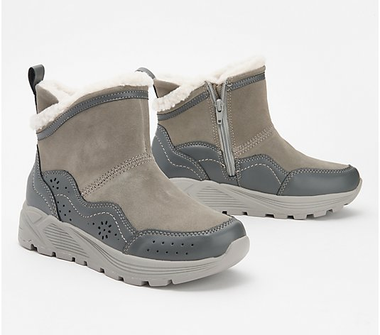 Earth Suede Ankle Boots - Journey Verve