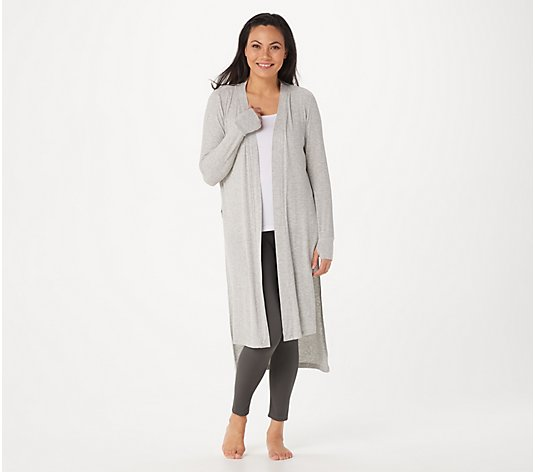 Cuddl Duds Softwear with Stretched Ribbed Duster