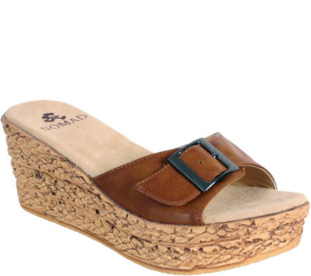 Nomad Wedge Sandals - Redondo