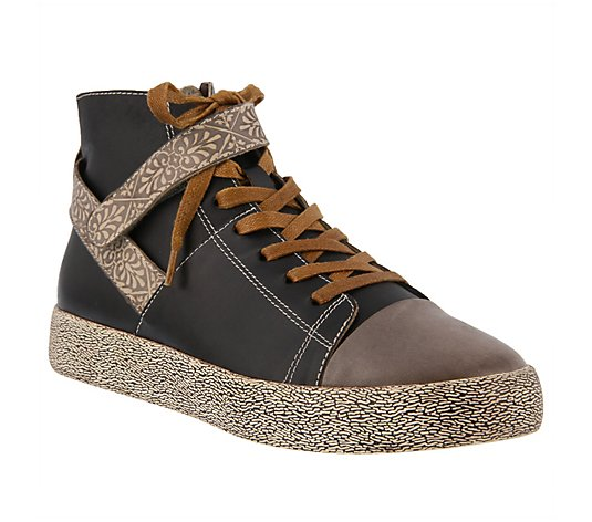 L'Artiste by Spring Step Leather Sneakers - Ahitop