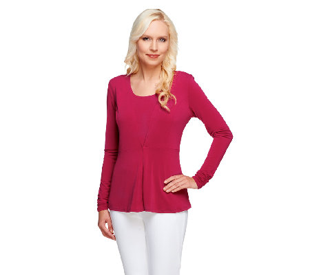George Simonton Crystal Knit Tank and Peplum Cardigan Set