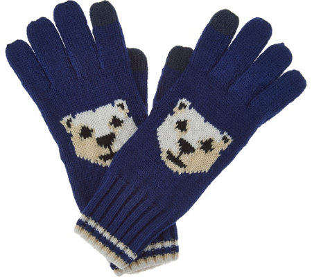 C. Wonder Polar Bear Intarsia Gloves