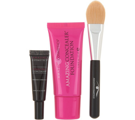 Amazing Cosmetics Basics 3-piece Kit