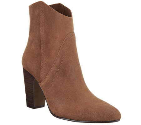 Vince Camuto Suede Ankle Boots Creestal