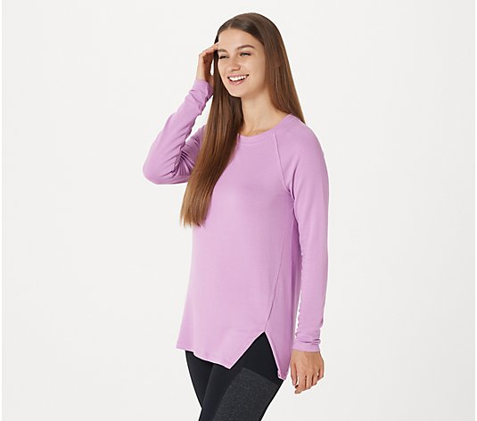 Soulgani Active California Love Long-Sleeve Top with Cut-Out