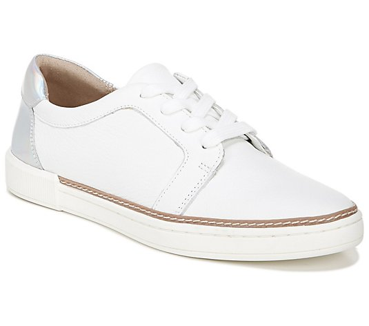 Naturalizer Leather Lace-up Oxford Sneakers - J ane