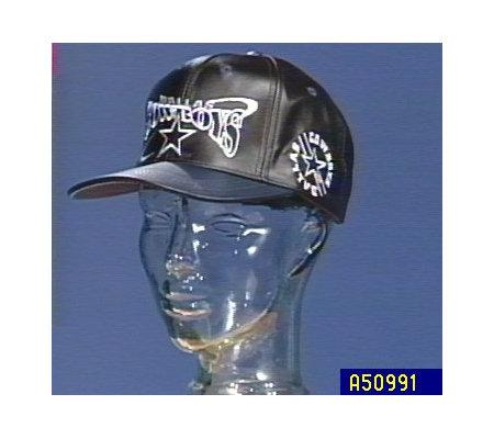 Choice of NFL Black Leather Hats by Pro Elite — QVC.com 42d359c9a