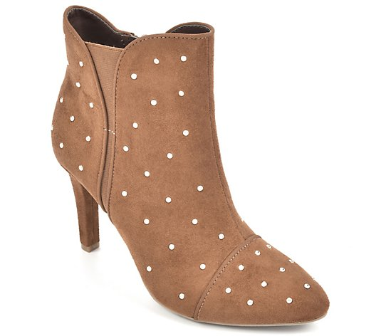 Rialto Heeled Dress Booties - Chanted