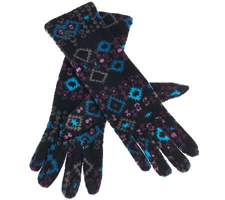 40511994b Cuddl Duds Fleecewear Stretch Gloves with Touchpoint Tips - Page 1 ...