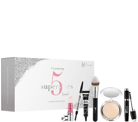 IT Cosmetics IT's Your Top 5 Superstars & More! 6-pc Holiday Set