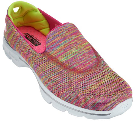 Skechers Gowalk 3 Fitknit Slip-on Sneakers - Tilt