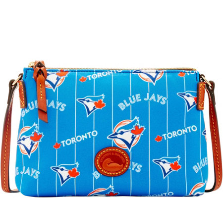 Dooney & Bourke MLB Nylon Blue Jays Crossbody Pouchette