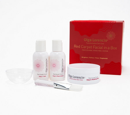 Olga Lorencin 3-step Red Carpet Facial in a Box