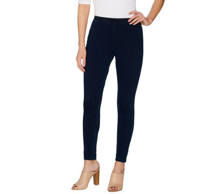 Women with Control Prime Stretch Denim Pull-On Skinny Jeans