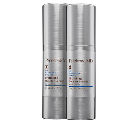 Perricone Md H2 Hydrating Booster Serum Duo