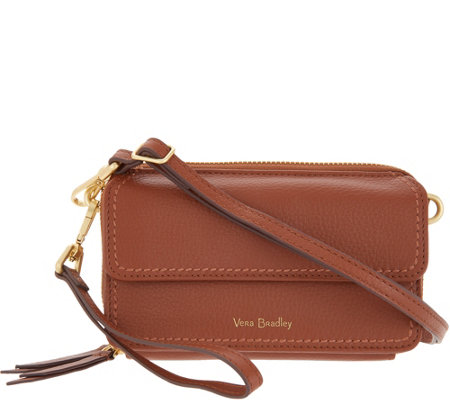 Vera Bradley Mallory Leather RFID All In One Crossbody Bag