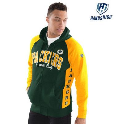 low priced bc2ff 32a92 NFL Men's League Zip-Up Fleece Hoodie — QVC.com