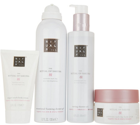 Rituals 4 Piece Bath Body Set