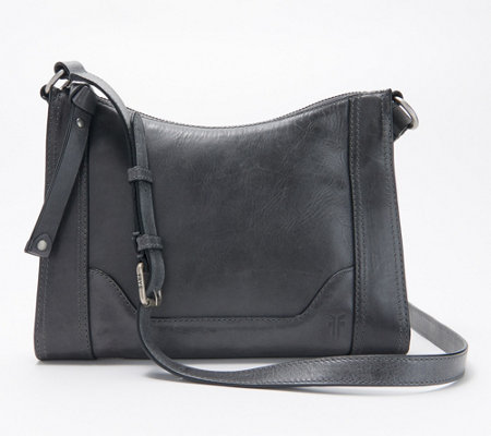 Frye Leather Melissa Zip Crossbody - Page 1 — QVC.com