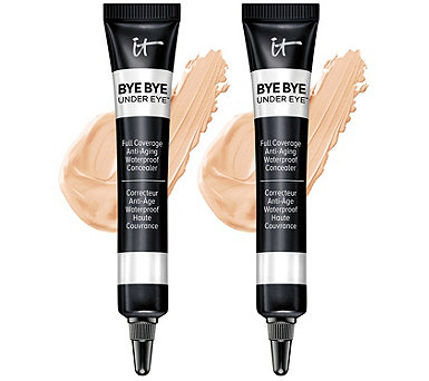 IT Cosmetics Bye Bye Under Eye Anti-Aging Concealer Duo with Collagen - A345792
