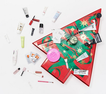 QVC Beauty Christmas Advent Calendar 24-Piece Sample Collection
