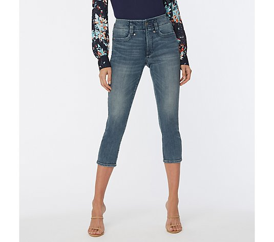 NYDJ Ami Capri Jeans with Cool Embrace- Clean Monet