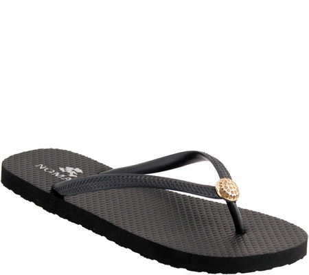 Nomad Rubber Thong Sandals - Pearl II