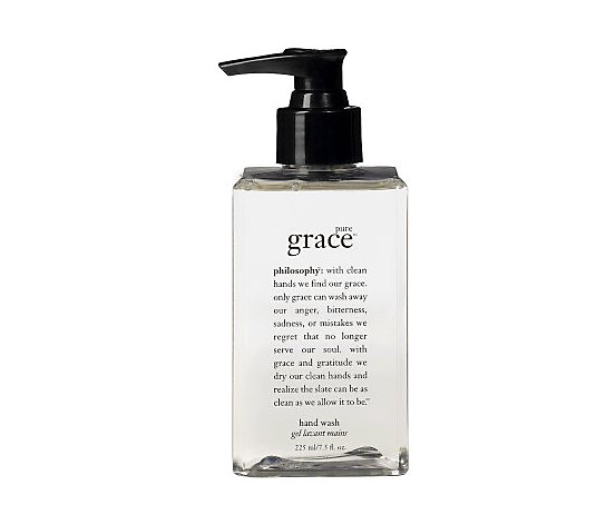 philosophy pure grace hand wash, 7.5 oz.