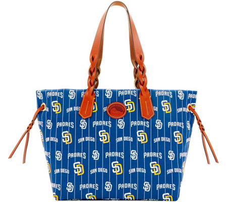 Dooney & Bourke MLB Nylon Padres Shopper