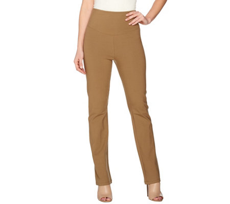 Women with Control Tall Wide Waistband Boot Cut Pants