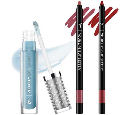 IT Cosmetics IT's Your Beautiful Lip Color & Shine Trio