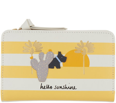 "RADLEY London Medium Zip Top ""Hello Sunshine"" Wallet"