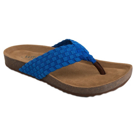Eastland Elastic Thong Sandals - Ophella