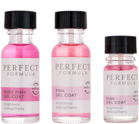 Perfect Formula Gel Coat Pink & Ruby Gel Coat Kit