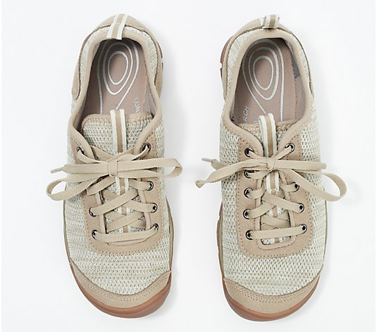KEEN Lace-Up Knit Shoes - Hush Knit CNX