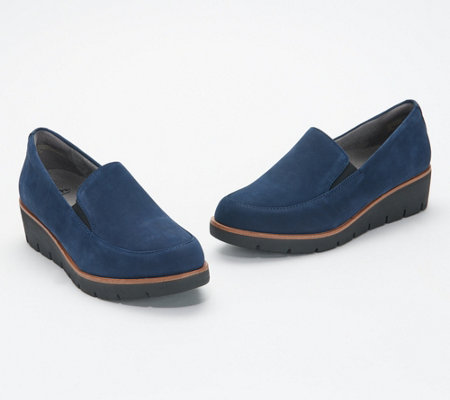 Earth Suede or Patent Slip-On Shoes - Zurich Bern