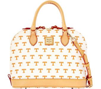 Dooney Bourke Ncaa University Of Tennessee Zip Satchel A283194