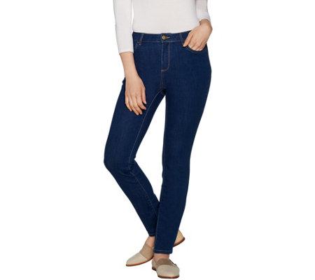 LOGO by Lori Goldstein Stretch 5-Pocket Skinny Jean