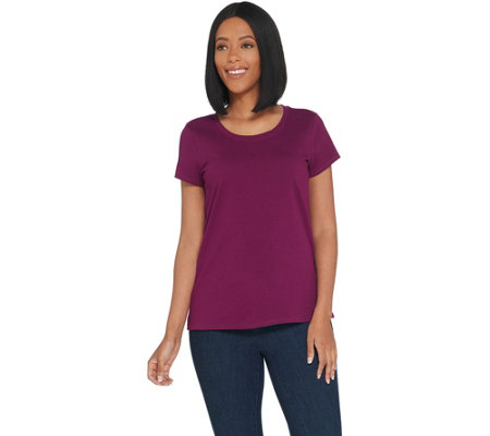 Kelly by Clinton Kelly Essential Knit T-Shirt