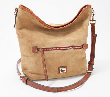 Dooney & Bourke Fielding Suede Small Hobo Crossbody