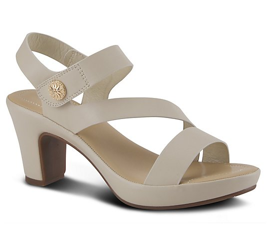 Patrizia by Spring Step Comfort Heel Sandals -Asymadade