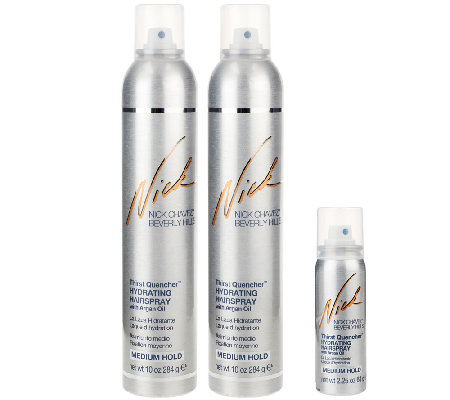 Nick Chavez Thirst Quencher Duo with Travel-Size Hairspray