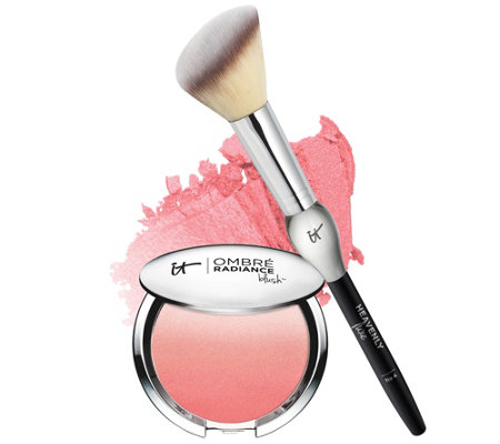 IT Cosmetics CC Radiance Ombre Blush with French Boutique Brush