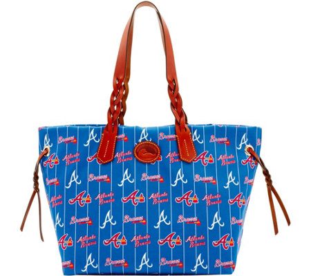 Dooney & Bourke MLB Nylon Braves Shopper