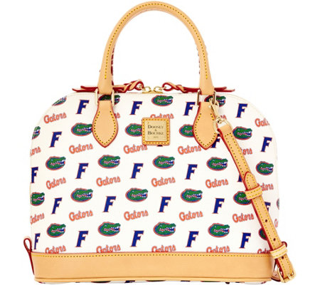 Dooney & Bourke NCAA University of Florida Zip Zip Satchel