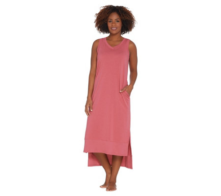 AnyBody Loungewear Cozy Knit Maxi Tank Dress