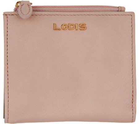 LODIS Italian Leather RFID French Wallet -Aldis