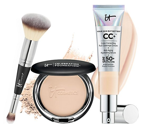 IT Cosmetics IT's Your Flawless Complexion 3 pc Collection